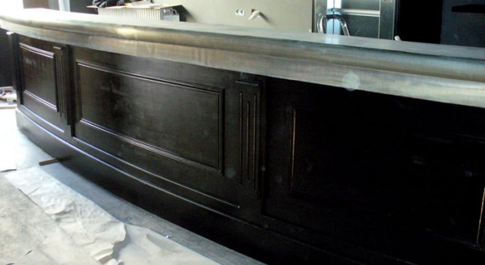 au vieux zinc pascal pernin b nisterie comptoir et bar en zinc. Black Bedroom Furniture Sets. Home Design Ideas